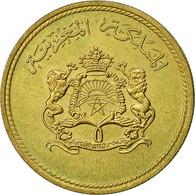 Monnaie, Maroc, Al-Hassan II, 10 Santimat, 1974, TTB, Aluminum-Bronze, KM:60 - Maroc
