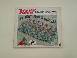 STR14 : Album Publicitaire De 1973 / ELF ASTERIX COURT TOUJOURS , Coté Au Moins 9 € Au BDM - Objets Publicitaires