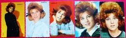 LOT 5 PHOTOS VINTAGE SHEILA - ANNEES 60 - Riproduzioni