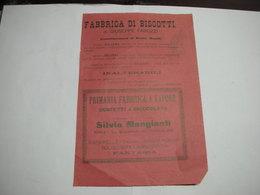 ROMA    ---  CIOCCOLATO - CACAO - CARAMELLE  -- DOLCIUMI ---   SILVIO MANGIANTI - Italia