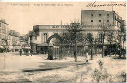 94. Saint Mandé. Place Et Restaurant De La Tourelle - Saint Mande