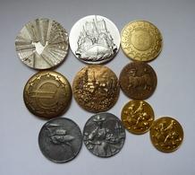 Lot De 10 Médailles Diverses - France