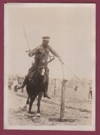160518 - PHOTO PRESSE MILITARIA - RUSSIE - Sport Armée Rouge Exercices D'adresse Soldat Cheval équitation - Guerra, Militares