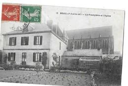BOUSSAY  N 10  LE PESBYTERE ET L EGLISE  GROS PLAN     DEPT 44 - Boussay