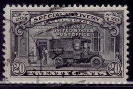 United States 1951, Special Delivery, Post Office Truck, 20c, Sc#E19, Used - Special Delivery, Registration & Certified