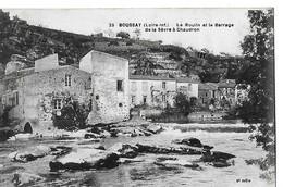 BOUSSAY  N 25  MOULIN ET BARRAGE DE LA SEVRE A CHAUDRON       DEPT 44 - Boussay