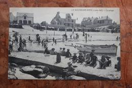 LE BOURG DE BATZ (44) - LA PLAGE - Francia