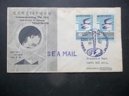 Korea, South, R.O.K.: 1960 Ca-FDC To Amarante, Portugal (#KD3) - Korea, South