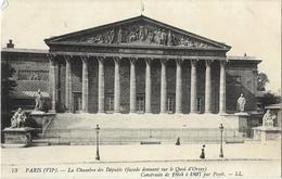 Paris - La Chambre Des Députés (façade Donnant Sur Le Quai D'Orsay) Construite De 1804 à 1807 Par Poyet - Autres