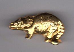 Fève 3D Metal Doré - DINOSAURE - Animals