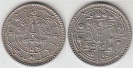 Nepal 1 Rupee 1979 Km#828a - Used - Nepal