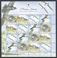 W356 2017 PITCAIRN ISLANDS FAUNA BIRDS WWF PHOENIX PETREL 1SH MNH - W.W.F.