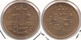 Nepal 1 Rupee 2005 Shree Talbarahi Km#1187- Used - Nepal