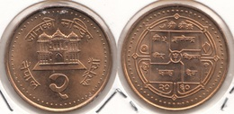 Nepal 2 Rupees 2003 Km#1151.1- Used - Nepal