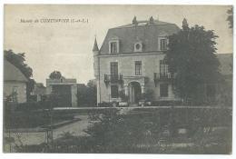 CPA MANOIR DE CONTINVOIR, INDRE ET LOIRE 37 - Frankreich