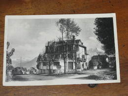 LA ROCHE SUR FORON - Quartier De La Gare - Maison QUOEX    ( Tampon Au Dos De Cette Maison ) - La Roche-sur-Foron