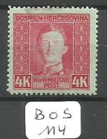 BOS YT 136 * - Bosnia And Herzegovina