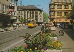 D-97070 Würzburg - Fußgängerzone - Car - Straßenbahn - Tram - Wuerzburg