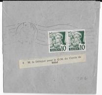 ZOF - 1948 - BADEN - BANDE JOURNAL De BADEN BADEN => BÜHL - Zona Francese