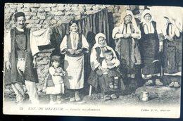 Cpa Macédoine Environs De Monastir Famille Macédonienne  AVRIL18-05 - Macédoine