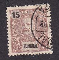 Funchal, Scott #16, Used, King Carlos, Issued 1897 - Funchal