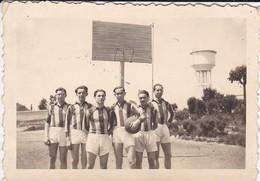 MINI-PHOTO----BASKET--l'équipe De Basket De L' E N P  ( Puy ? ) En 43--voir 2 Scans - Photographie
