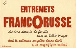 BUVARD  ENTREMETS FRANCORUSSE - Cake & Candy
