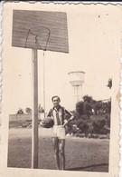 MINI-PHOTO----BASKET  De L' E N P  ( Puy ? ) En 43-le Meilleur De Tous, Le Capitaine---voir 2 Scans - Photographie