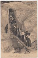 Sortie De La Grotte Du Glasier Des Bosson - France