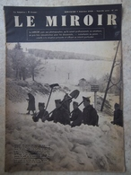 """""""le Miroir"""" Du Dimanche 7 Janvier 1940 - 1939-45"""