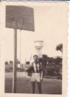 MINI-PHOTO----BASKET  De L' E N P  ( Puy ? ) En 43--l'un Des Meilleurs De L'équipe Jouant Arrière---voir 2 Scans - Photographie