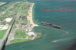 USS Lexington CV 16, Corpus Christi Beach, Texas, USA Unused - Corpus Christi