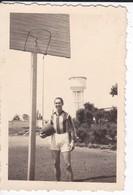 MINI-PHOTO----BASKET  De L' E N P  ( Puy ? ) En 43-le Deuxième Arrière Qui Est Aussi Un Joueur De Rugby---voir 2 Scans - Photography