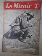 """""""le Miroir"""" Du Dimanche 14 Avril 1940 - 1939-45"""