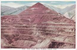 UTAH COPPER MINE. BINGHAM CANYON. PUBL CARPENTER PAPER CO. USA.-BLEUP - Salt Lake City