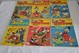 Picsou Magazine N° 40 – 41 – 43 – 44 – 45 – 48 - Picsou Magazine