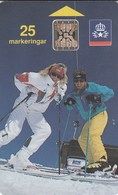 Sweden - Skiers - Skidåkare - Sweden