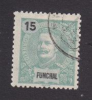 Funchal, Scott #17, Used, King Carlos, Issued 1897 - Funchal