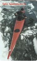Sweden - Red Kayak - Sweden