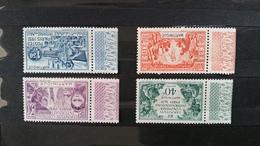 TIM 30 MARTINIQUE Exposition Coloniale De PARIS 1931 Série De 4 Timbres NEUFS ** ++  Avec Bord De Feuille Parfait état - 1931 Exposition Coloniale De Paris