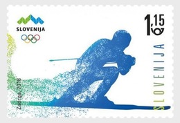 Slovenië / Slovenia - Postfris / MNH - Complete Set Olympische Spelen 2018 - Slovenië