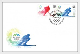 Slovenië / Slovenia - Postfris / MNH - FDC Olympische Spelen 2018 - Slovenië