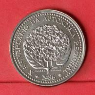 AZORES 100 ESCUDOS 1986 -    KM# 45 - (Nº22661) - Portugal