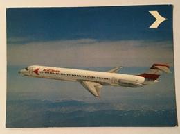 AUSTRIAN AIRLINES DC 9 SUPER 80, MD 80 NV FG - 1946-....: Era Moderna