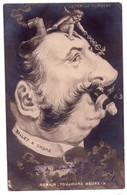 """1390 - Caricature De L'affaire Humbert ( Justice ) - """" Romain Toujours Heureux """" - Raphaël Tuck Et Fils - N°243 - - Satiriques"""