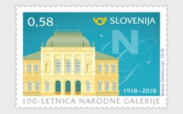 Slovenië / Slovenia - Postfris / MNH - 100 Jaar National Gallery 2018 - Slovenië