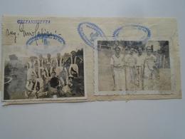 AV411.10 Caltanisetta  -Sezione Calcistica- Tennistica - Calcio Tennis    -1933 - Signature Autograph  Italia Sicilia - Autografi