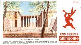 BUVARD  PAIN D EPICES  GRINGOIRE  Musee D Art Moderne - Pain D'épices
