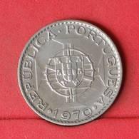 MOZAMBIQUE 10 ESCUDOS 1970 -    KM# 79b - (Nº22671) - Portugal