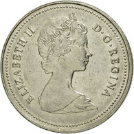 Canada, Elizabeth II, 25 Cents, 1980, Royal Canadian Mint, Ottawa, TB+, Nickel - Canada